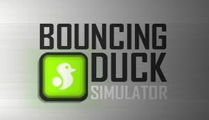 Bouncing Duck Simulator cover