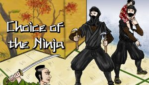 Choice of the Ninja cover