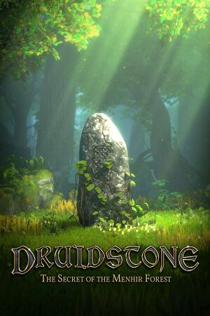 Druidstone:The Secret of the Menhir Forest cover