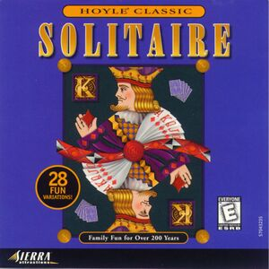 Hoyle Solitaire cover