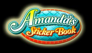 Amanda's Sticker Book cover