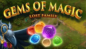 Gems of Magic: Lost Family cover