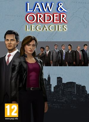 Law & Order: Legacies cover