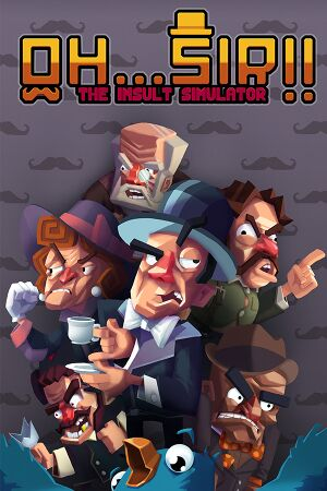 Oh...Sir! The Insult Simulator cover