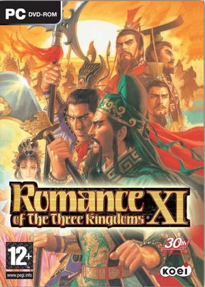 Romance of the Three Kingdoms XI cover