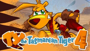 TY the Tasmanian Tiger 4 cover