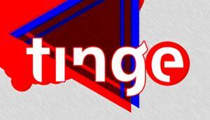 Tinge cover