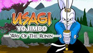 Usagi Yojimbo: Way of the Ronin cover