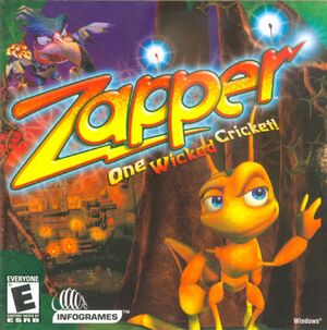 Zapper: One Wicked Cricket cover