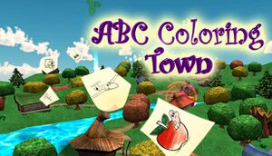 ABC Coloring Town cover