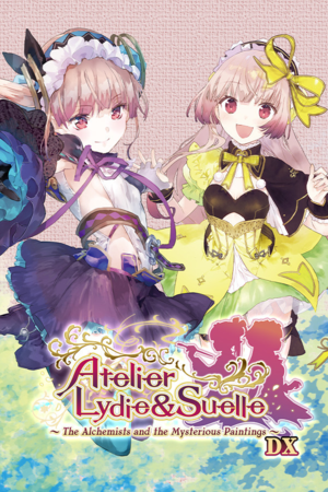 Atelier Lydie & Suelle: The Alchemists and the Mysterious Paintings DX cover