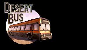 Desert Bus VR cover