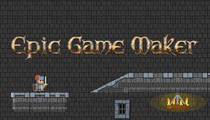 Epic Game Maker - Sandbox Platformer cover