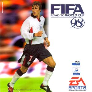 FIFA: Road to World Cup 98 cover