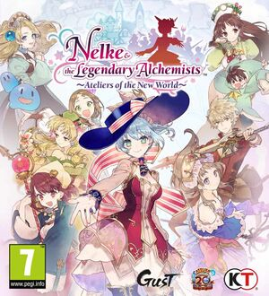 Nelke & the Legendary Alchemists: Ateliers of the New World cover
