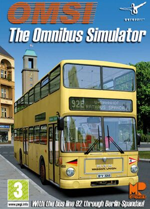 OMSI: The Bus Simulator cover