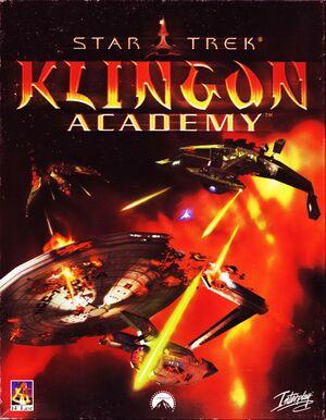 Star Trek: Klingon Academy cover