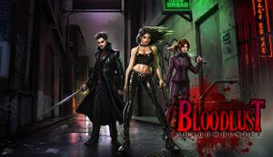 BloodLust Shadowhunter cover