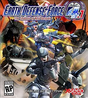 Earth Defense Force 4.1: The Shadow of New Despair cover