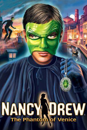 Nancy Drew: The Phantom of Venice cover