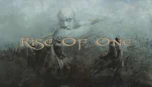 Rise of One cover