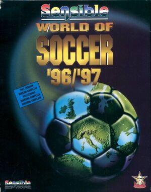 Sensible World of Soccer 96/97 cover