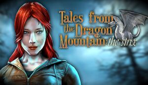 Tales From The Dragon Mountain: The Strix cover