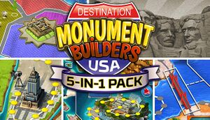 5-in-1 Pack - Monument Builders: Destination USA cover