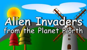 Alien Invaders from the Planet Plorth cover