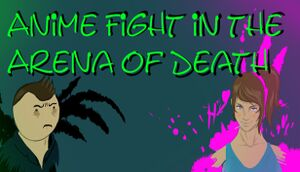 Anime Fight in the Arena of Death cover