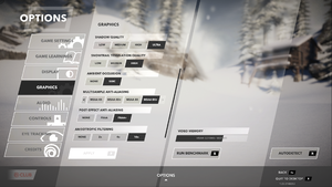 In-game video settings (part 2).