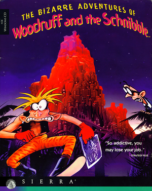 The Bizarre Adventures of Woodruff and the Schnibble cover