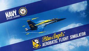 Blue Angels Aerobatic Flight Simulator cover