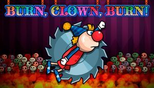 Burn, Clown, Burn! cover