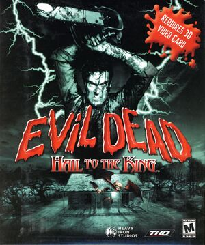 Evil Dead: Hail to the King cover