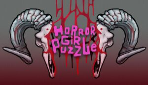 Horror Girl Puzzle cover