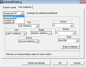Launcher Keymap Options