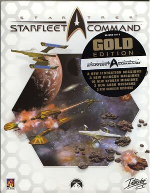 Star Trek: Starfleet Command cover