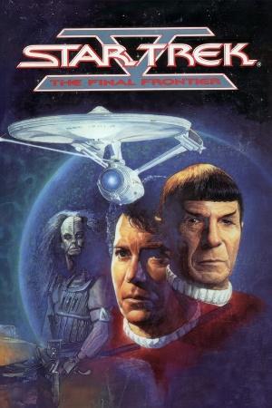 Star Trek V: The Final Frontier cover