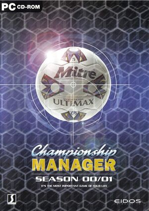Championship Manager: Season 00/01 cover