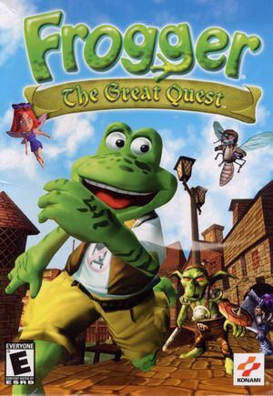Frogger: The Great Quest cover