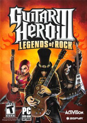 Guitar Hero III: Legends of Rock cover