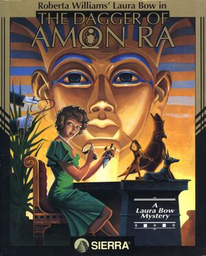 The Dagger of Amon Ra cover