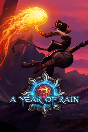 A Year Of Rain cover