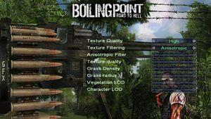 In-game custom gfx settings.