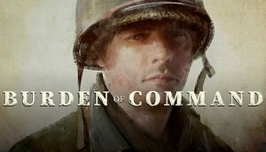 Burden of Command cover