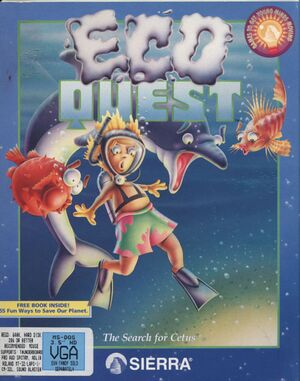 EcoQuest: The Search for Cetus cover