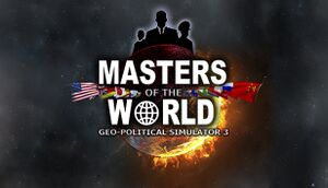 Masters of the World - Geopolitical Simulator 3 cover