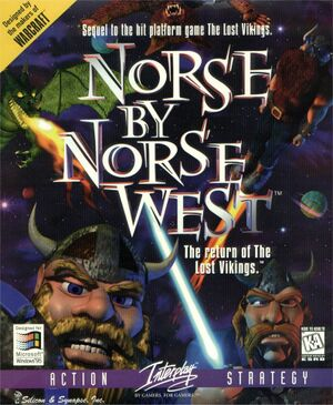 Norse by Norse West: The Return of the Lost Vikings cover