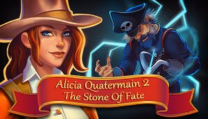 Alicia Quatermain 2: The Stone of Fate cover